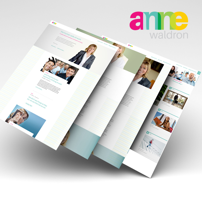 #WebDesign & #WebDevelopment for Anne Waldron – #Branding #graphicdesign #identitydesign