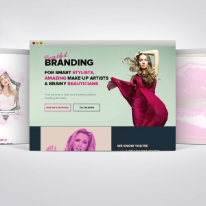 New #squeezepage for the site is finally complete – #webdesign #webdevelopment #beauty #fa ...