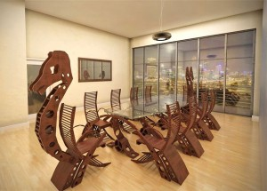 Viking Conference Table Will Turn Your Meeting Into A Viking Raiding Party