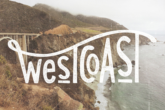 West Coast Art Print by Cabin Supply Co