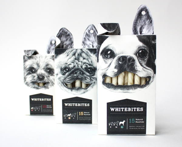 Whitebites Package Design