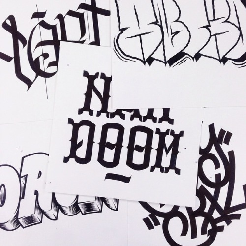 Typography by Mark Goss