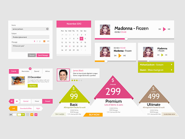 Premium UI Kits & Design Resources