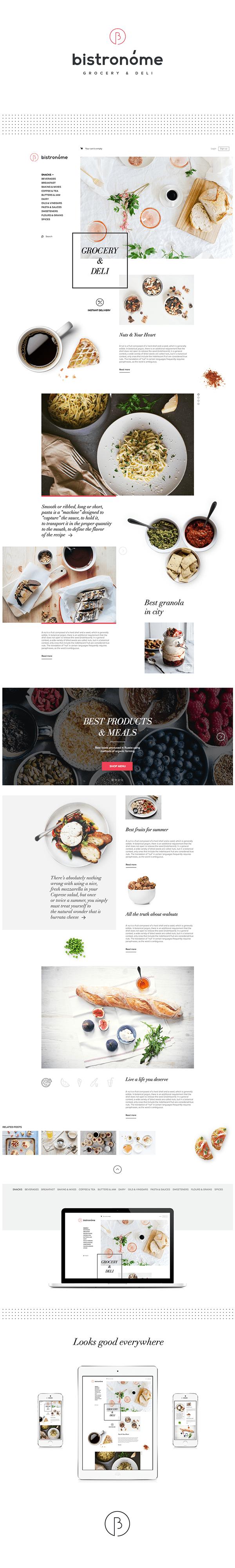 Bistronóme — Naming, Logotype & Website
