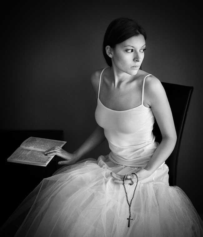 Black and White Portraits by Alexander Kharlamov