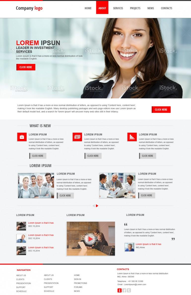 Business – web design
