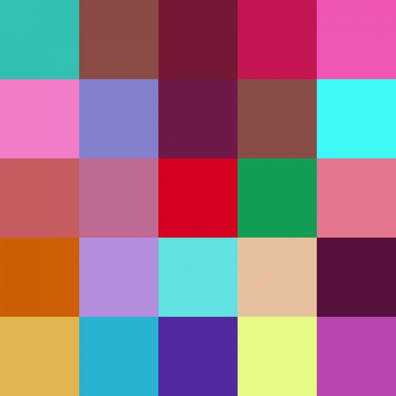 25 colors — 25 colors – 184