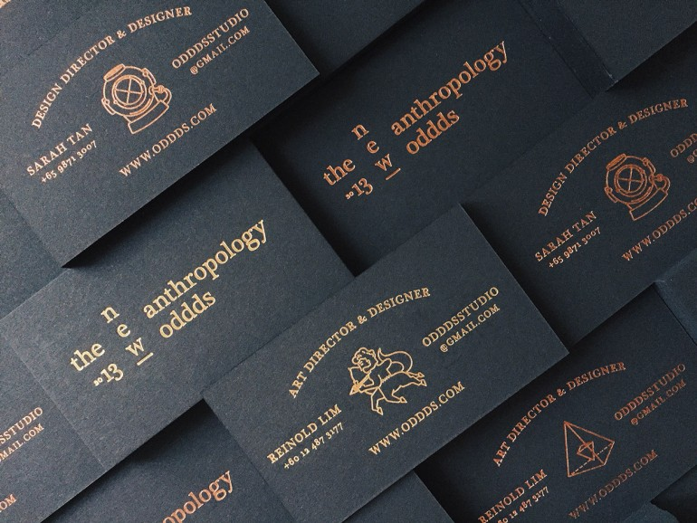 OTNA Bussiness Card by Oddds The New Anthropology