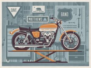 Dave Matthews Band // Berkeley, CA Poster