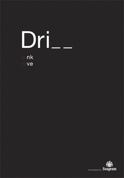 drink and drive | Ad & Concept