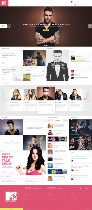 MTV – Redesign & Rethinking