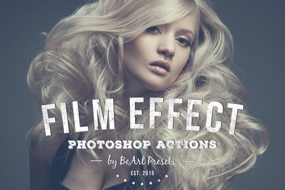 Stunning Film Effect Photoshop Actions by BeArt Presets will add professional touch to your imag ...
