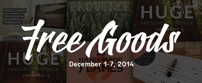Grab this week's freebies from across Creative Market