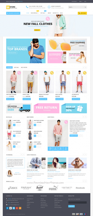 Mstore unique Multipurpose Responsive Magento Themes