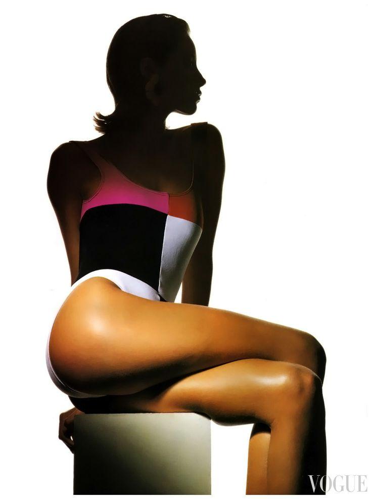 "Christy Turlington Vogue US December 1989 ""Strong…"