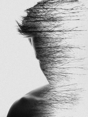 Double exposure photography by Simon Hart