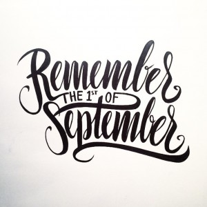 Sophisticated Hand Lettering by Melvin Leidelmeijer