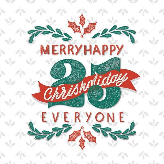 Merryhappy Chrisholiday Everyone