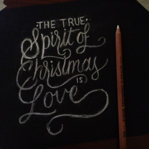 The True Spirit Of Christmas Is Love – quote by Linda Willis
