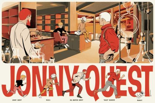 Jonny Quest Illustration – Doug Wildey