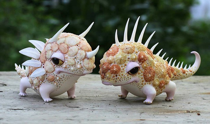 Ukrainian Artist Duo Creates Porcelain Creatures | Downgraf