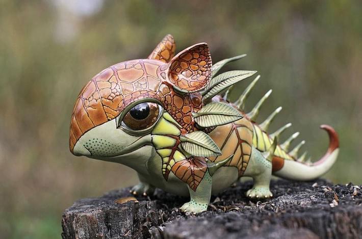 Ukrainian Artist Duo Creates Porcelain Creatures | Downgraf