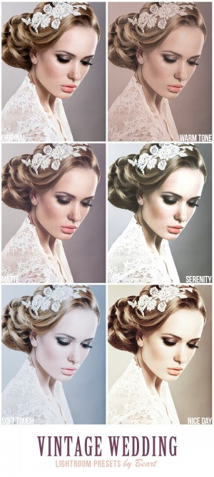 Vintage Wedding ACR and Lightroom Presets Collection — BeArt Lightroom Presets