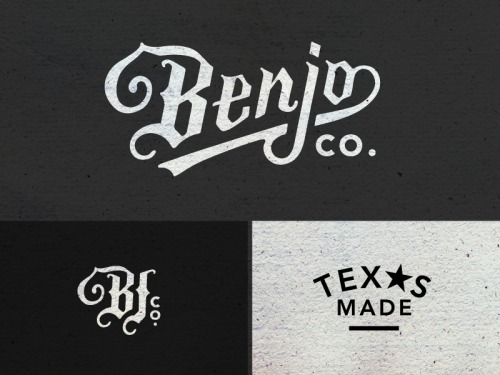 Benjo Logo Pieces by Amy Hood