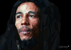 Bob Marley Low poly