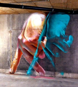 Case creates a new indoor piece in Basel, Switzerland