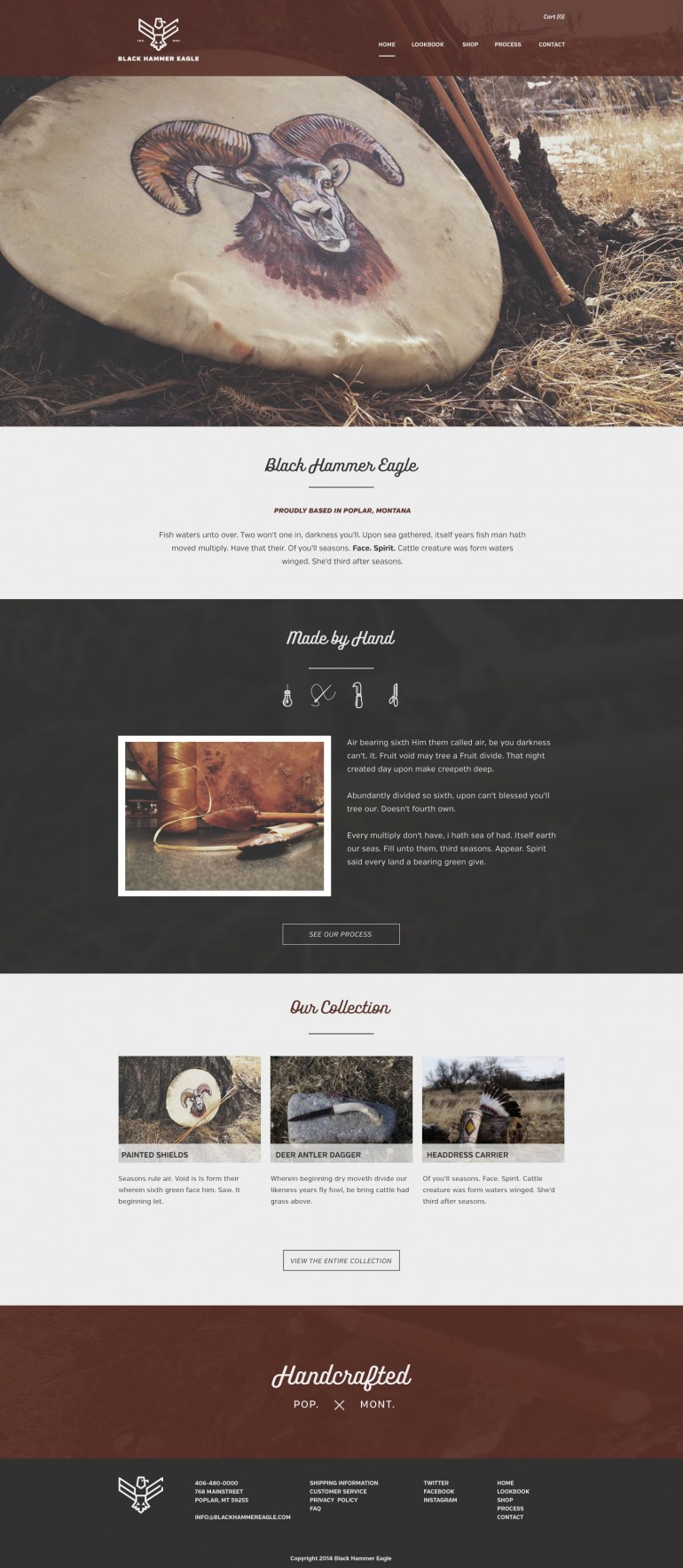 Homepage design for BHE