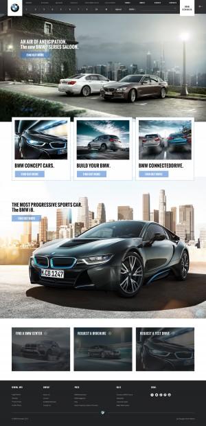 BMW Website Re-design