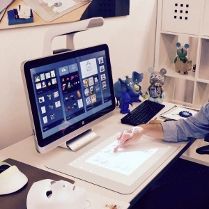 HP Sprout 23″ Multi-Touch Immersive Computer