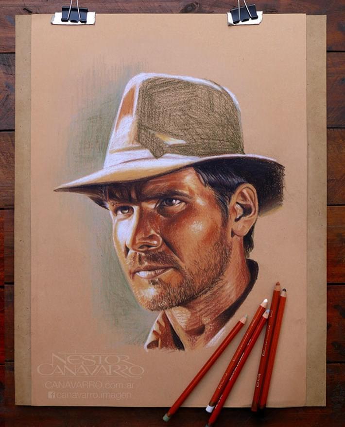 Hyper Realistic Pencil Drawings of Néstor Canavarro