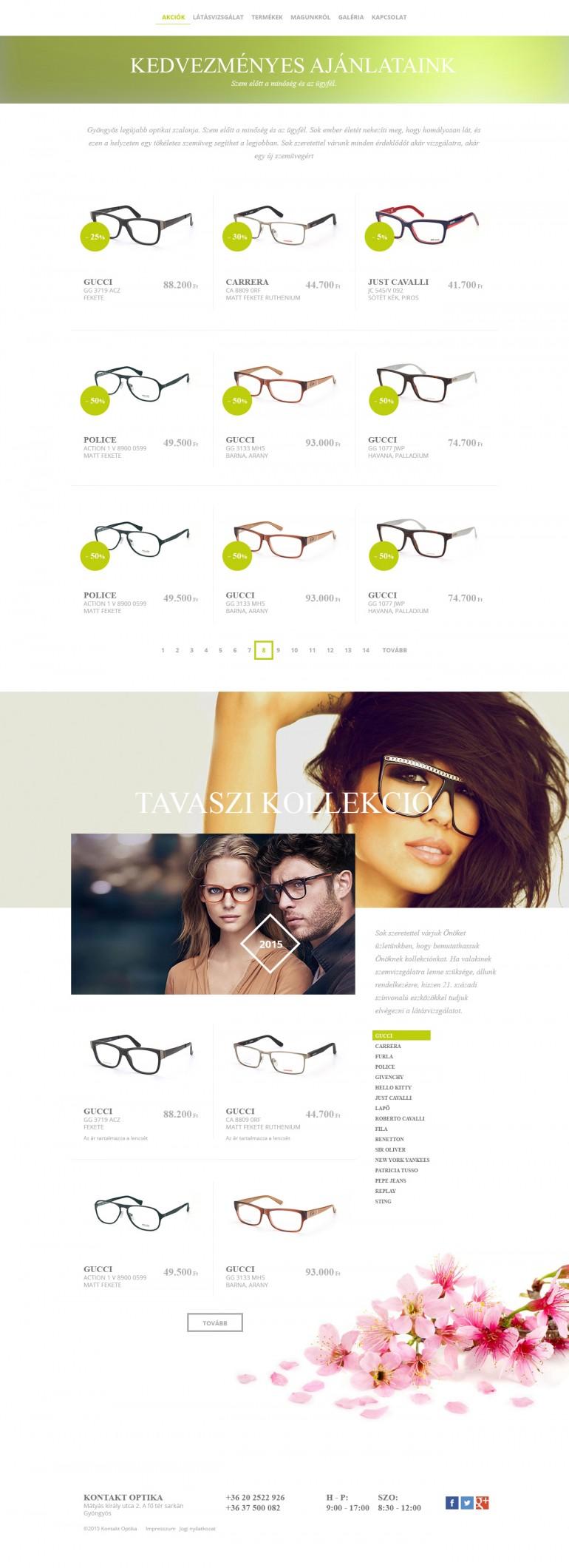 Kontakt Optika. Luxury fashion eyeware. Design concept.  More on Béhance: http://bit.ly/145wX3O