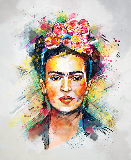 """Frida Kahlo"" Posters by tracieandrews"