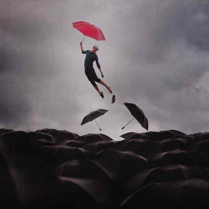 Surreal Self Portraits by Joel Robison