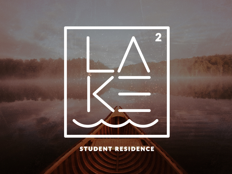 The Lake – Concept Logo for a Student Residence in Northern Ontario.