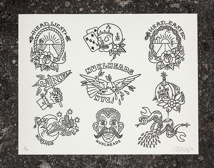Letterpress Flash Sheet 1