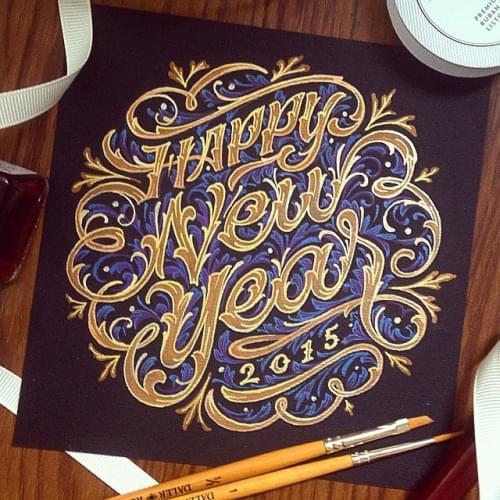 Happy New Year by darkgravity.