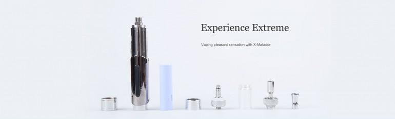 X-Matador Electronic Cigarette.High-end elegant Matador cloak appearance design, the symbol of p ...