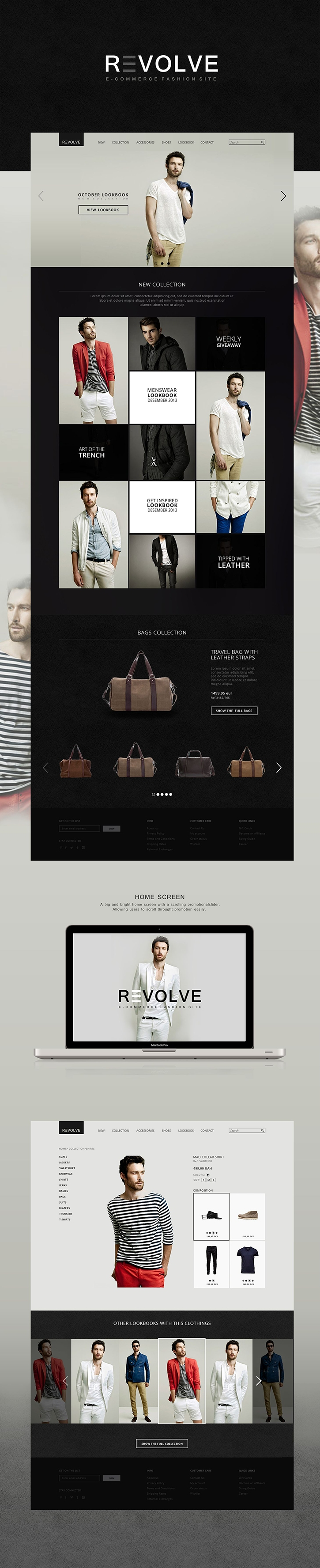 Revolve e-commerce website