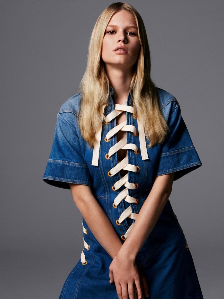 Anna Ewers por Daniel Jackson para Vogue UK Fevereiro 2015