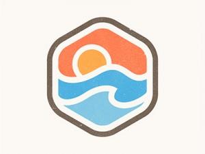 Sunrise Badge by Yoga Perdana