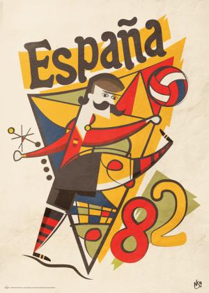 España 82 By Neil Stevens