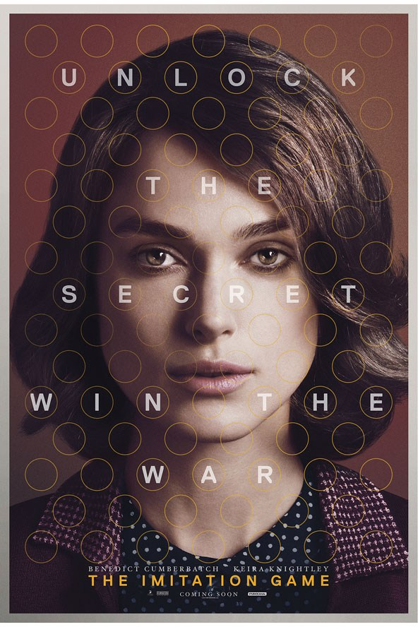 FIRST LOOK: Keira Knightley The Imitation Game poster exclusive