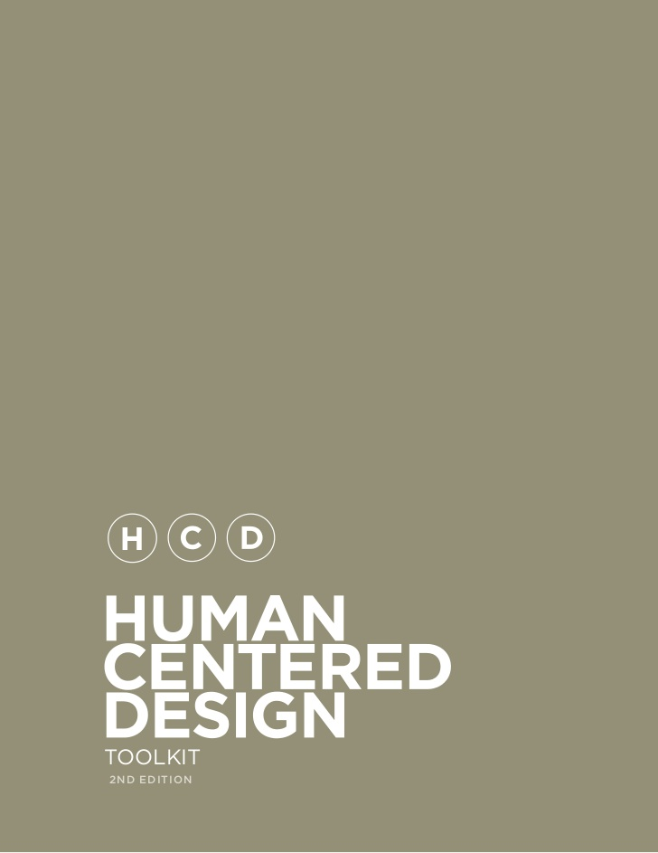 IDEO – Human Centered Design Toolkit