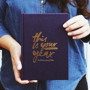 Kick Off the New Year With Stylish Motivational Stationery