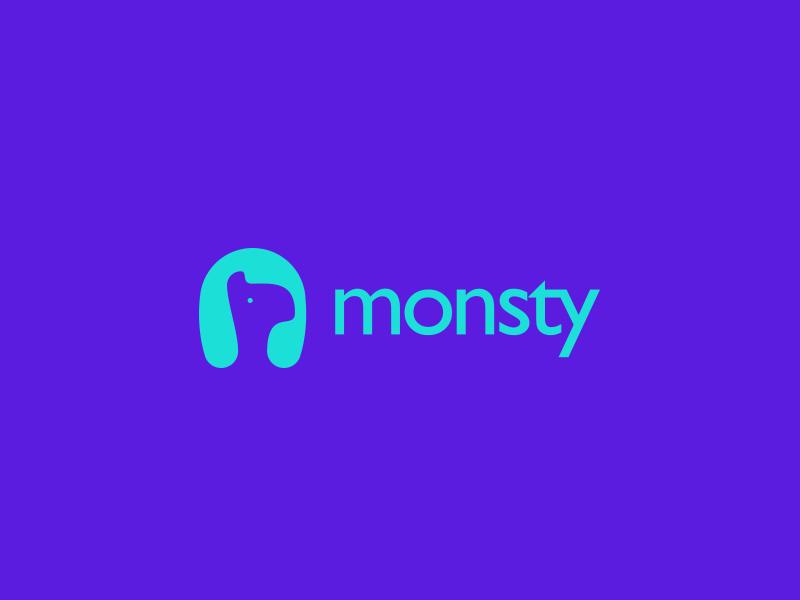 Monsty Logo Design