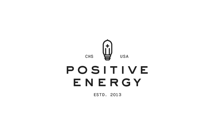 Positive Energy Brand Creation, Collateral, Icons, Illustration, Logo, Print, Responsive Web Des ...